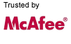 Trusted by Mcafee
